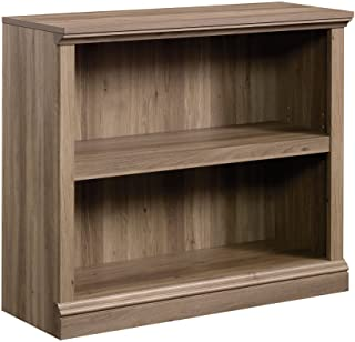 Sauder 2-Shelf Bookcase, Salt Oak finish