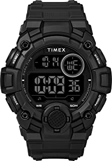 Timex Mens Quartz Watch, Digital Display And Resin Strap - TW5M27400