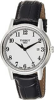 Tissot Mens Quartz Watch, Analog Display and Leather Strap T085.410.16.012.00