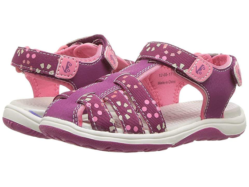 See Kai Run Kids Paley Webbing (Toddler/Little Kid) (Magenta) Girl