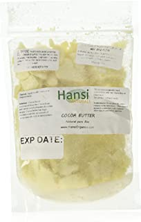 Raw Cocoa Butter 100% Pure 8oz ** SEALED BAG TO ENSURE FRESHNESS** by smellgood(Packaging may vary)