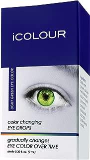 hazel green contacts on dark brown eyes