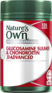 Nature's Own Glucosamine Sulfate & Chondroitin Advanced 120 Tablets