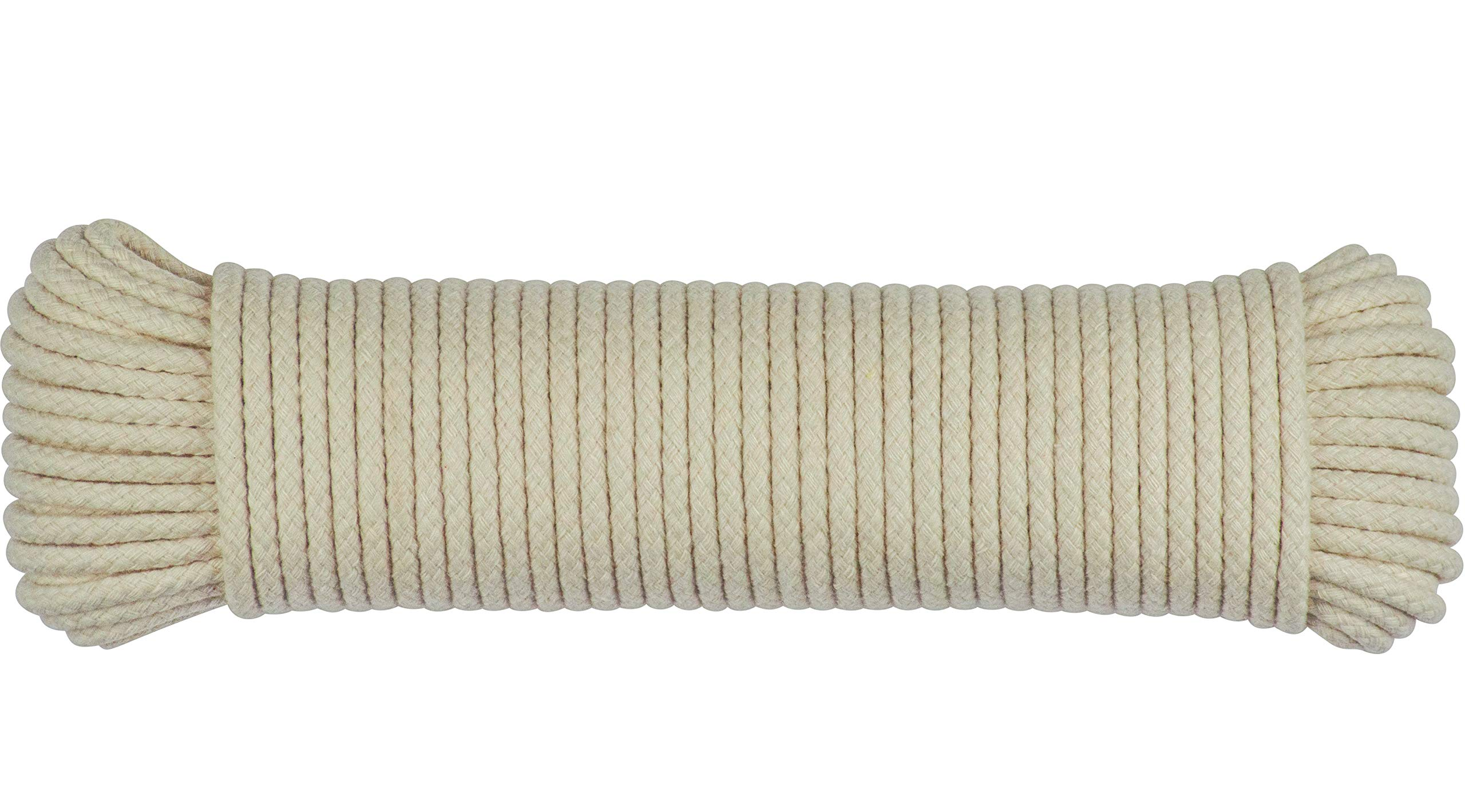 Halters SteadMax 50ft Natural Cotton 3//16 Inch Rope for Sports /& Outdoors Ideal for Tents Hammocks Awnings Harnesses 1 Pack Heavy Duty General Purpose Rope Utility Cord