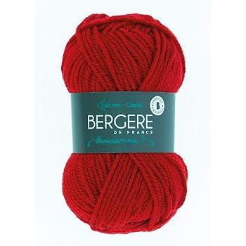 Synth/étique 13 x 8 x 8 cm Rouge berg/ère de france 22312 Pelote de Fil /à Tricoter