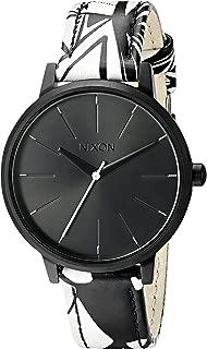 Nixon Women's A1082218-00 Kensington Leather Analog Display Japanese Quartz Multi-Color Watch