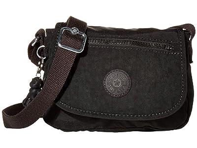 Kipling Sabian Crossbody Mini Bag (Black Noir) Handbags