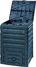 Exaco 628001 Eco-Master Polypropylene Composter, 120-Gallon, Black
