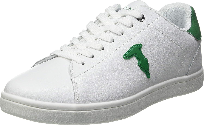 Trussardi Jeans Men's Gymnastics Shoes Oxford Flat