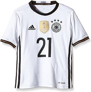 adidas - Camiseta Infantil de la selección Alemana con el Nombre de Gündogan