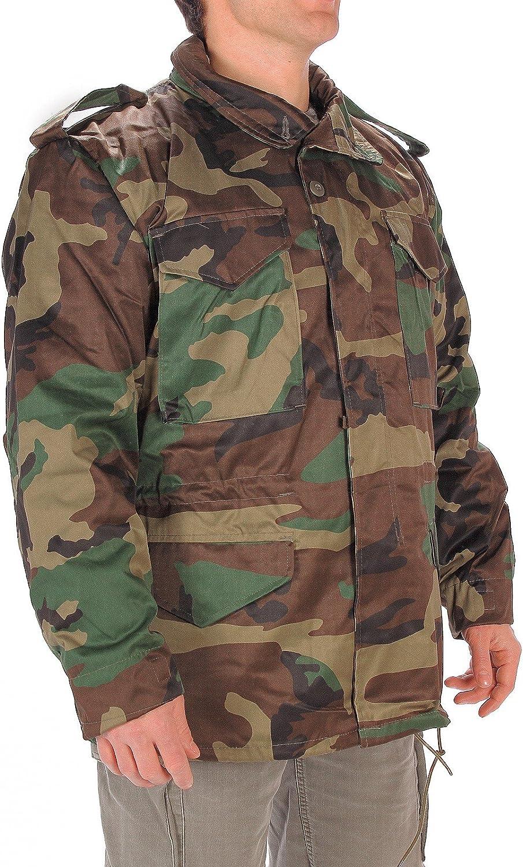 CamoOutdoor Men's M65 Woodland Field Jacket
