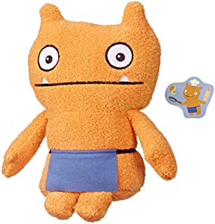 """UglyDolls - Warm Wishes Wage 10"""" Plush Figure - Orange Doll wearing Purple Apron with Letter - Movie Inspired - Dolls and ..."""