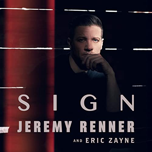 Sign Jeremy Renner Eric Zayne
