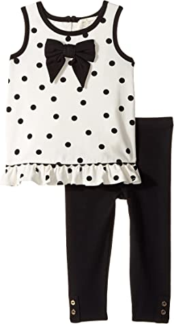 Kate Spade New York Kids - Bow Top Leggings Set