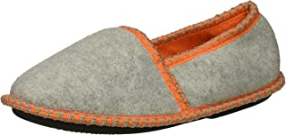 Dearfoams Kids' Df Boy's Fleece Closed Back Slipper