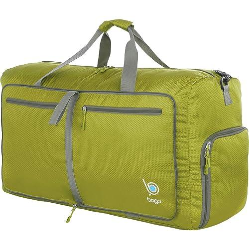61c0bd1863 Bago 60L Duffle bags for men   women - Foldable Travel Duffel weekender bag