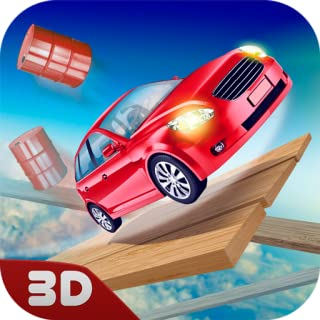 Impossible Car Track Riding