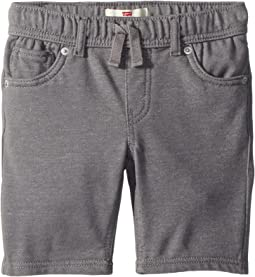 Knit Jogger Shorts (Little Kids)