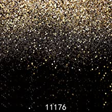 WOLADA 10x10ft Gold Bokeh Spot Photo Backdrops Starry Shining Wedding Birthday Photography Backdrop Dance Party Event Decor Children Newborn Photo Background Studio Props 11176