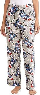 Eeyore Gray Holiday Fleece Sleep Pants
