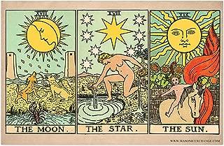 The Moon, Star, and Sun Tarot Cards Poster - 11
