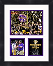 LSU Tigers 2020 CFP Champions Framed 11 x 14 Matted Collage Framed Photos Ready to Hang