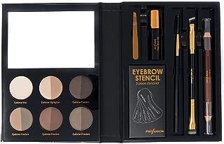 Profusion Cosmetics - Brows - Professional Eyebrow Powder Highlighter Eyebrow Wax Eyebrow Gel Eyebrow Pencil Brushes Plucker Included
