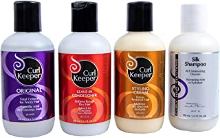 CURLY HAIR SOLUTIONS Tight Curl Kit- Perfect Combination of Travel Size Products For Effortless Detangling and Effective Style Management (3.4 oz)