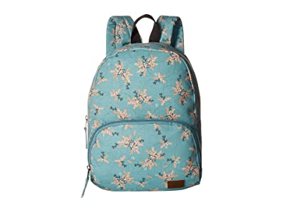 Roxy Always Core Canvas Backpack (Aquifer/Flowers Everyday Swim) Backpack Bags