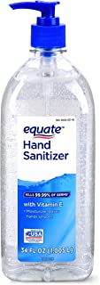 EQUATE HAND SANITIZER KILLS 99.99% OF GERMS (32 oz Pack of 1, Original)