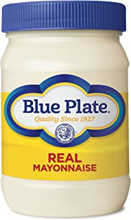 Blue Plate Real Mayonnaise, 8 Ounce Jar (Pack of 12)