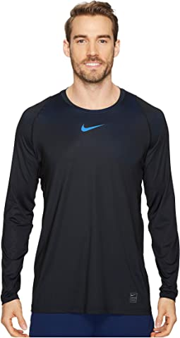 Nike Pro Colorburst Long Sleeve Training Top