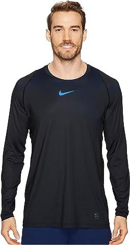 Nike Pro Colorburst Long Sleeve Training Top