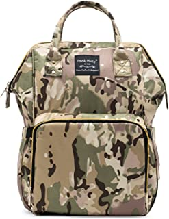 SoHo Metropolitan Diaper Backpack Bag 4pc, Camo