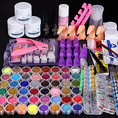 Cooserry 115 In 1 Acrylic Nail Kit - 48 Colors