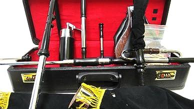 Uilleann Pipes Half Set Black color Bagpipes by Musicalitem