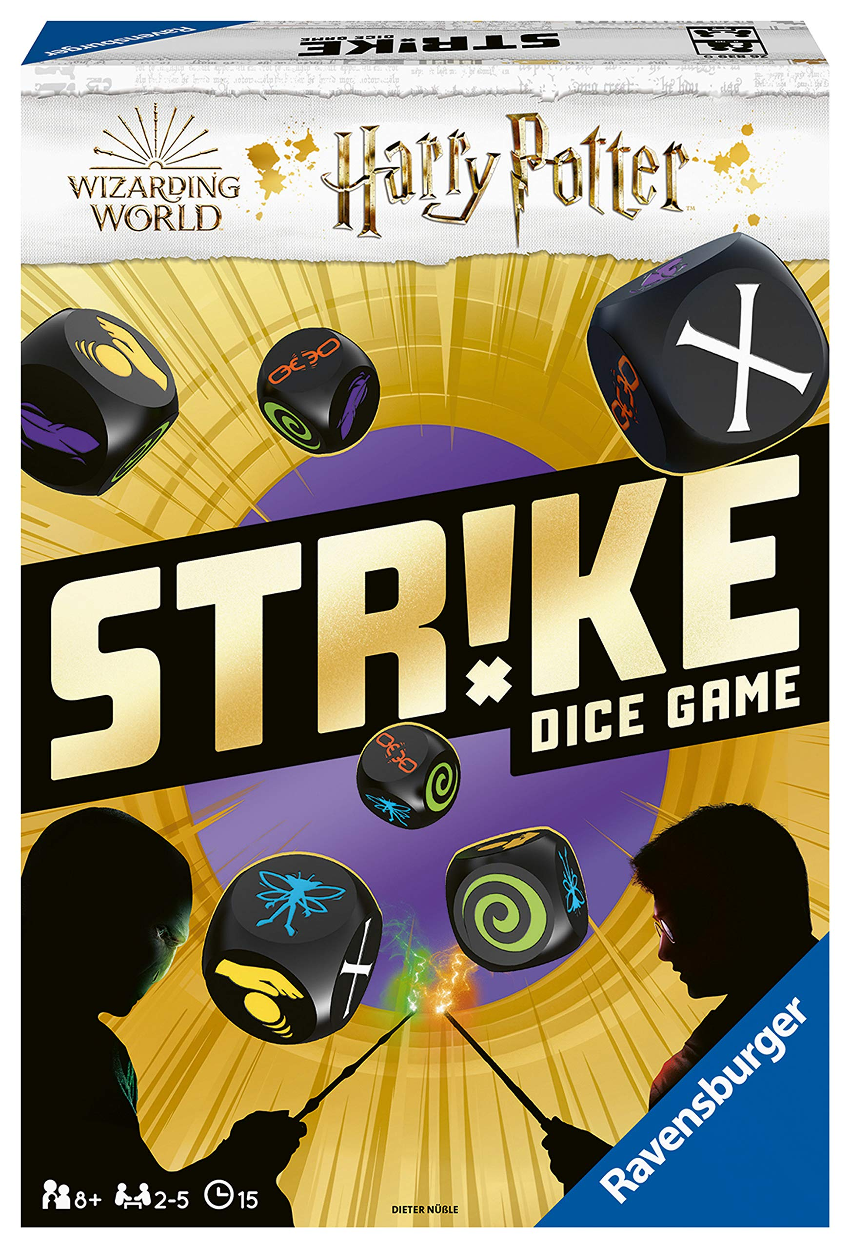 Ravensburger Strike Harry Potter - Versión española, Family Game, 2-5 Jugadores, Edad recomendada 8+ (26839): Amazon.es: Juguetes y juegos