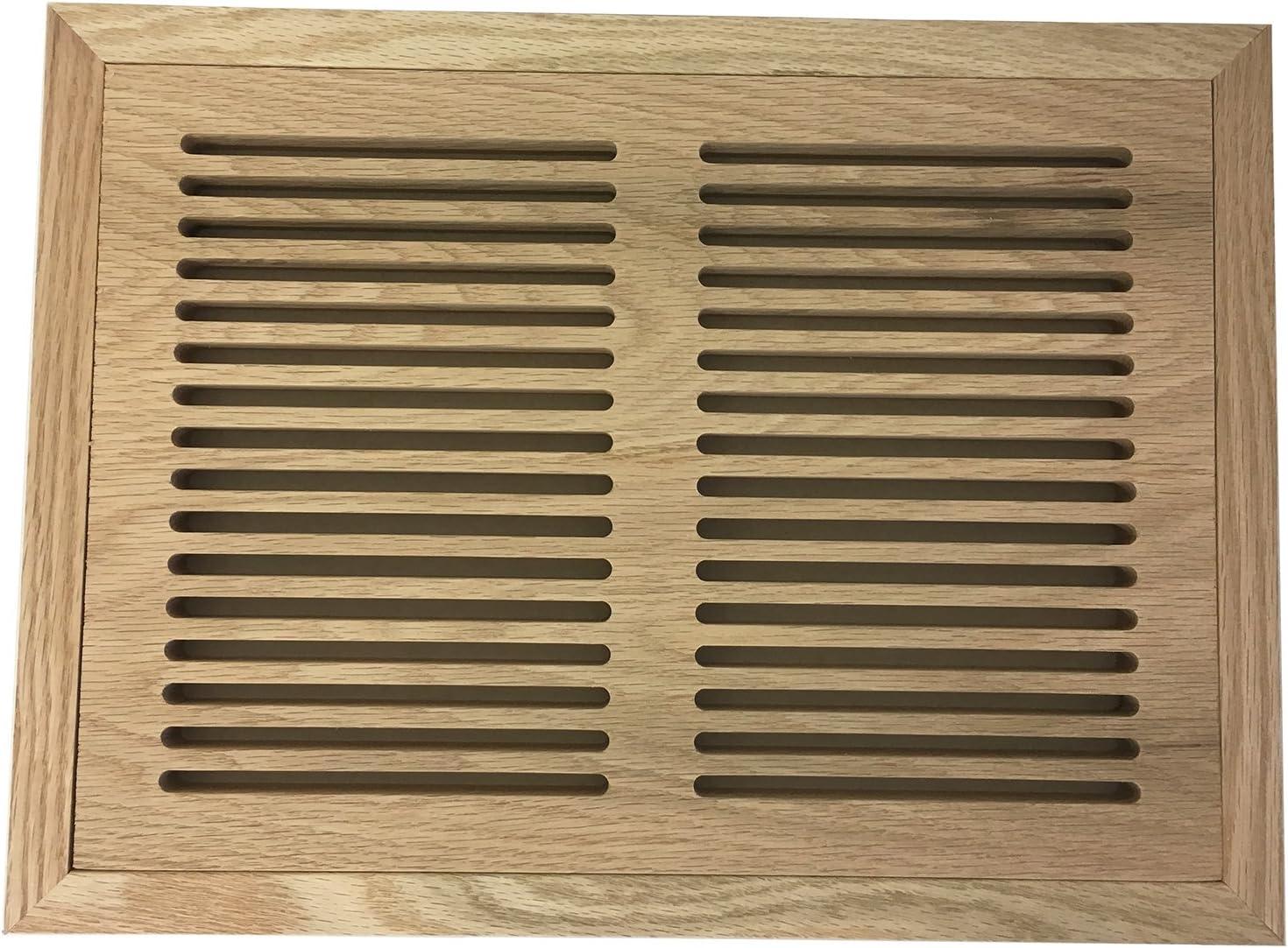 8 Ranking TOP17 Inch x 12 Super popular specialty store Red Oak Flush Hardwood Vent Moun Floor Register