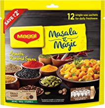 MAGGI Masala-ae-Magic Seasoning, Vegetable Masala - 72g Pouch (12 Sachet)