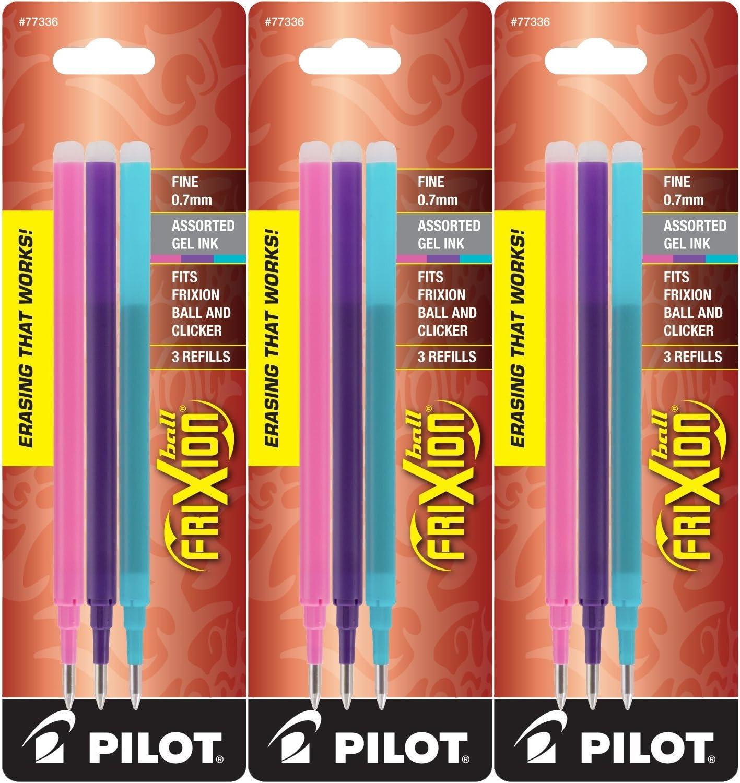 Ranking TOP15 Pilot Refills for Ranking TOP19 Frixion Erasable Pens Fashion Gel Assorte Ink