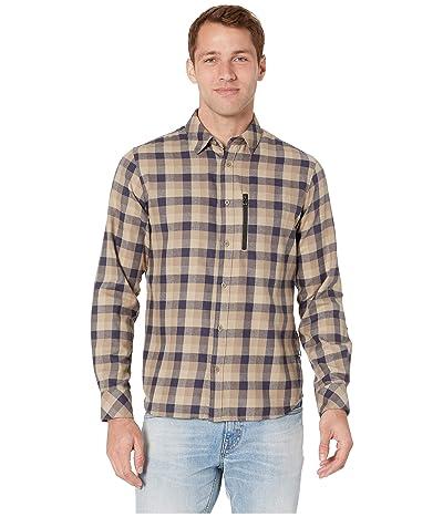 Helly Hansen Lokka Long Sleeve Shirt (Fallen Rock Plaid) Men