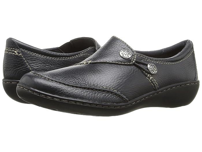 Clarks  Ashland Lane Q (Navy) Womens  Shoes