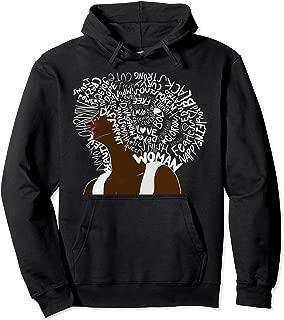 Black Power | Educated Strong Black Women Afrikan Queen Pullover Hoodie