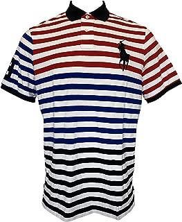 Men's Classic-Fit Flag Crest Big Pony Polo Shirt