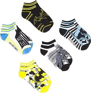 Boys DC Comics Batman 5 Pack Socks