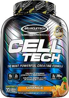 Creatine Monohydrate Powder + Carb Matrix   MuscleTech Cell-Tech Creatine Powder   Post Workout Recovery Drink   Muscle Bu...