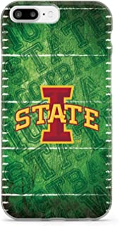 Inspired Cases - 3D Textured iPhone 7 Plus Case - Protective Phone Cover - Rubber Bumper Cover - Case for Apple iPhone 7 Plus - Iowa State University Cyclones - Football Case