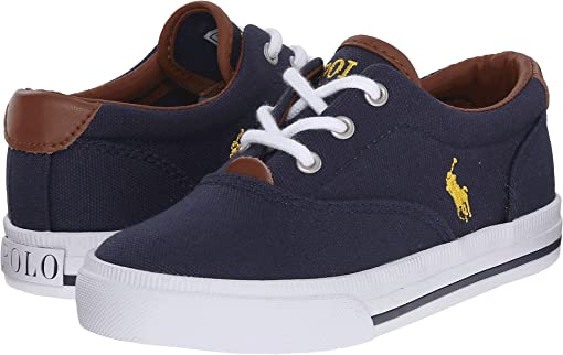 Navy Canvas/Yellow