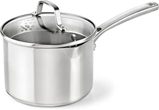 Calphalon Classic Stainless Steel Cookware, Sauce Pan, 3 1/2-quart