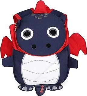 Animal Mini Child Backpack Dragon with Leash Chest Strap Kids Nursery Rucksack